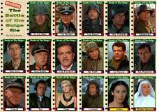 Battle of the Bulge Movie Trading Cards Fonda Shaw Ryan Savalas Bronson