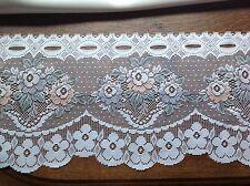 brise bise cantonnière rideaux à décor vendu au mètre B41