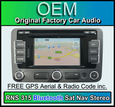 VW Passat Navigation CD player, Bluetooth Handsfree, VW RNS 315 Sat Nav stereo
