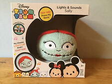 NEW Nightmare Before Christmas Sally Plush Tsum Tsum Lights Sounds Rare Exclusiv