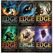 Edge Chronicles series level 1-6 Collection 6 Books Set Curse of the Gloamglozer