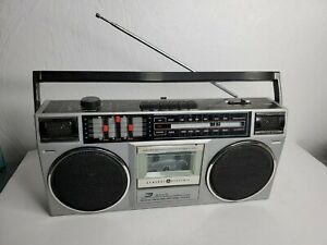 Vintage General Electric GE 3-5455A Radio Boombox Ghetto Blaster Jam Box [READ]