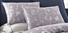 2 Kenneth Cole Rain Queen Standard Shams Ombré Floral Abstract Lilac Purple