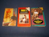 (3) Sin Binge John Baxter Tongue It Jan Harvey The Swingers Party Janice sleaze