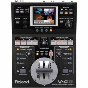 Roland V-4EX 4-channel Digital Video Mixer with Effects FREE SHIPPING