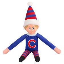 Chicago Cubs Plush Christmas Elf - MLB Doll On The Shelf Stuffed Toy
