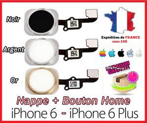 Flat Flex + Tasto Home IPHONE 6/6 Plus - Bianco/Argento/Oro / Oro/Nero