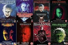 HELLRAISER COMPLETE ALL MOVIE DVD COLLECTION FILM 1 2 3 4 5 6 7 8 Brand New SET