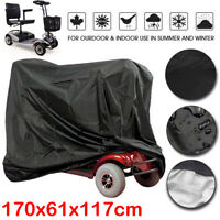 Mobility Scooter Storage Cover Wheelchair Waterproof Rain UV Protection 170CM