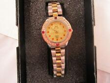 H Candice Swiss Ladies Watch New In Box 2 tone gold and silver band color
