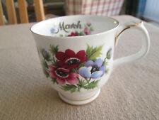 Royal Albert flor del mes de Café/Taza de Té