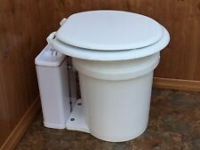 SmartJon Composting Toilet Ventless Airstream Camper Conversion Van Off-Grid RV
