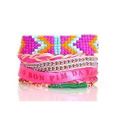 Bracelet brésilien tendance . Fermoir magnétique. 19 cm