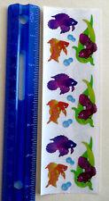 Sandylion BETA FISH - Strip of PRISMATIC BETA & BUBBLE Stickers RETIRED