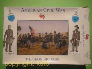1:32 Figuren Call to Arms #18 US Bürgerkrieg Nordstaaten Union Iron Brigade Army