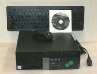 Dell Optiplex 7040 SFF i7-6700 3.4GHz 8GB 128GB M.2 SSD Wireless KB/Mouse Win 10