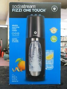 SodaStream Fizzi OneTouch Sparkling Water Maker Black with CO2 & BPA free Bottle