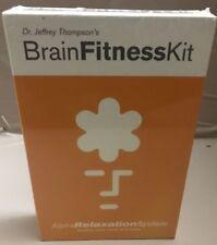 Brain mind Fitness Kit: Alpha Relaxation System - New. Meditation
