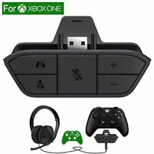 For Xbox One Controller Stereo Headset Audio Adapter Enables Chat Game 3.5mm YH