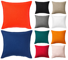 """IKEA Cushion Cover """"GURLI""""  50x50cm 100% Cotton New AVAILABLE IN 15 COLORS"""