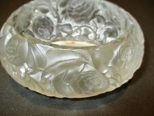 Antique Glass Dinard Box By R. Lalique Of France