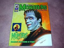 FAMOUS MONSTERS # 264, STICKER version: Herman Munster Munsters cover - STICKER!