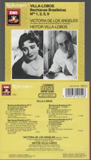 Villa Lobos Bachianas Brasileiras Cd Album Victoria De Los Angeles CDH Japan