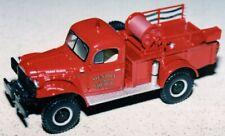 FIRST GEAR  1949 DODGE POWER WAGON - BRUSH TRUCK - 18-2677  MENDON FD