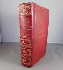 ALPHONSE DAUDET / LE PETIT CHOSE / 1880 ALPHONSE LEMERRE Reliure demi-cuir