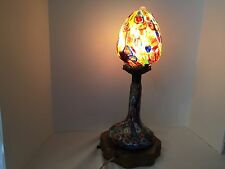 Vintage Murano Millfiore Italian art glass lamp