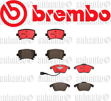 Audi A3 TT Volkswagen GTI Passat Front+Rear Brake Pad Sets Brake Kit Brembo