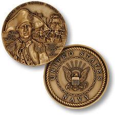 U.S. Navy Seal / John Paul Jones - USN Bronze Challenge Coin