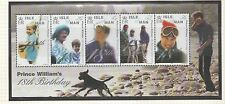 Isle of Man 2000 Principe William 18A MINISHEET sgms894 Unmounted MINT STAMPS