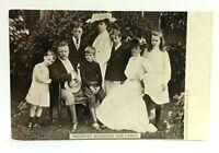 Theodore Roosevelt & Family UDB Undivided Back Vintage Postcard