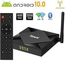 Andriod 10.0 TV Box - 4GB Ram 32GB ROM - Quad Core - Dual Wifi 2.4/5.0 Ghz 4K