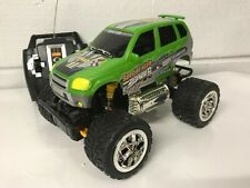 Monster Truck Sports Radio Remote Control Car Fast Speed Green Gold Orange Boxed
