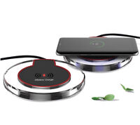 Qi Ricarica Fast Caricabatteria Wireless + Modulo per Iphone 5 5C SE 6 6S 7 plus