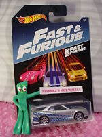 2017☆ 2 Fast & 2 Furious #2 NISSAN SKYLINE GT-R (R34)☆silver☆Hot Wheels Walmart