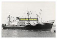 rp8621 - Shaw Savill Line Cargo Ship - Afric , built 1957 - photo 6x4