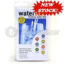 WaterSafe WS-425B City Home Tap Drinking Water Test Kit -Bacteria Lead pH & more