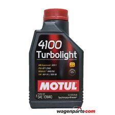 Aceite Motor Motul 4100 Turbolight 10W40, 1 litro