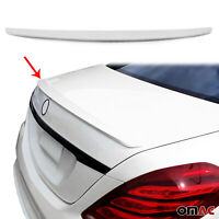 For MB S Class W222 2014-2020 Rear Trunk Spoiler Wing Bodykit Primed Paintable