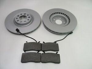 Alfa Romeo Giulia front brake pads and rotors 446