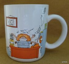 "Vintage Mug ""How to Get Along At the Office"" Hallmark 4"""