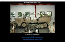 SdKfz7 halftrack Photo Detail CD-Rom Toadman's Tank Pictures  Download version