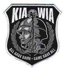 KIA-WIA WAR VETERAN PATCH P3652 USA military patches