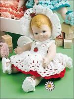 baby dolls clothes set crochet pattern 99p