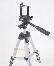 new Weifeng WT-3110A Tripod Portable 3 Way Head and phone clip holder