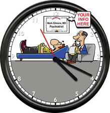 Personalized Name Psychiatrist Counselor Psychologist Male Man Sign Wall Clock