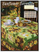 Sunflower Serenade Quilt Pattern Pieced PT
